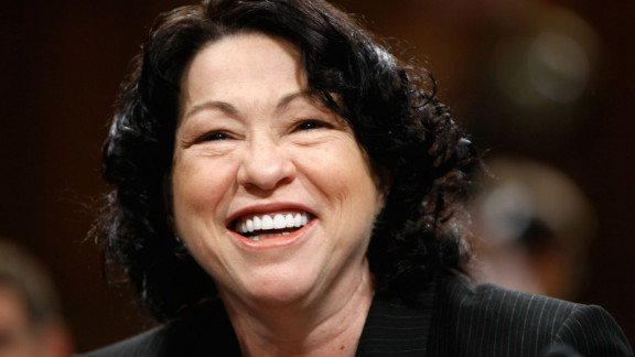 Sonia Sotomayor is the court's first Hispanic and third female justice. She was appointed by Obama in 2009 and is regarded as a resolutely liberal member of the court.