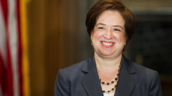 Elena Kagan is the fourth female justice to ever be appointed, and she is counted among the court's liberal wing. She was appointed by Obama in 2010 at the age of 50. She is the court's youngest member.