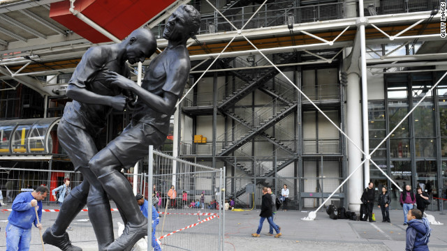 'Ode to defeat': Zidane headbutt immortalized in bronze statue