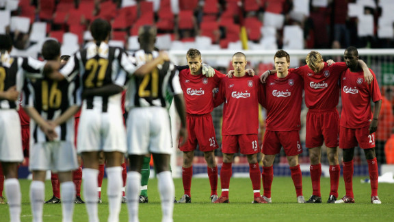 Liverpool met Juventus in a competitive match for the first time since that fateful day in 2005