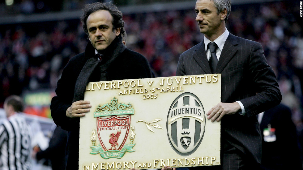 "Striker Ian Rush, right, spent one season at Juve in 1987-88 between two spells at Liverpool. Before the first leg of the 2005 quarterfinal at Anfield, Liverpool supporters held up a mosaic to form the word ""Amicizia"" (friendship). Some of the visiting Juve fans applauded, but many turned their backs in disgust. There is also a Heysel memorial plaque at Liverpool's Anfield Stadium."