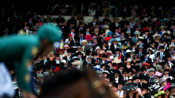 Since the 1960s, when off-track betting was legalized in Britain, the  industry has benefited from a direct payment from bookmakers called the Betting Levy.  Audience numbers are also up, with crowds flocking to this year's Royal Ascot Races.