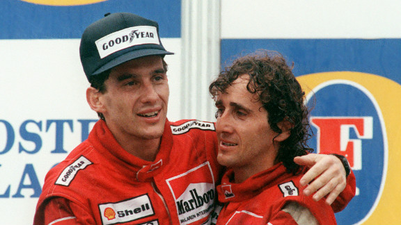 Prost and Senna formed a united team in 1988 as the latter won the championship for McLaren.