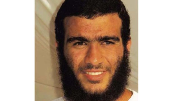 terrorism suspect Omar Khadr   1) is the undated photo of young Omar Khadr. We don?t know exactly when it was taken but definitely before his 2002 capture in Afghanistan 2) the undated ICRC photo taken of Khadr at Gitmo. This picture has been in newspapers such as the Miami Herald.