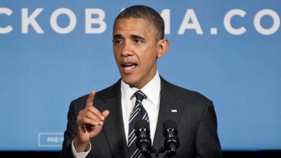 President Barack Obama addresses a fund-raiser event last week at the Capital Hilton Hotel in Washington.