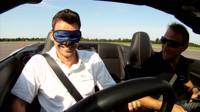 Jimmy Anderson's extreme driving test