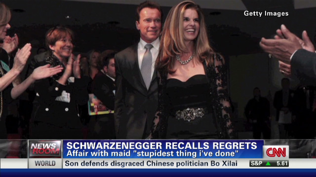 Schwarzenegger recalls regrets