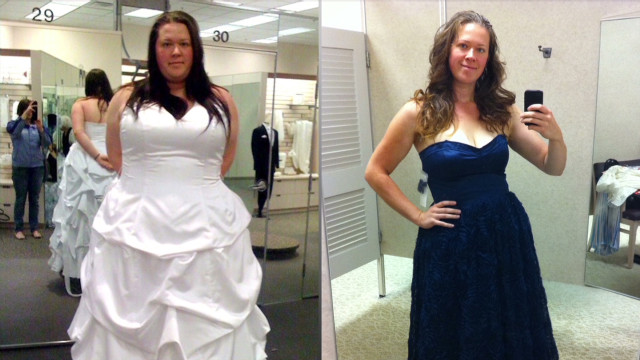 160-pound weight loss through pictures