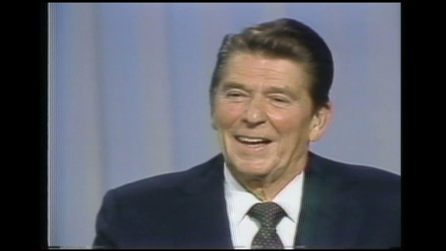 Reagan: 'There you go again'