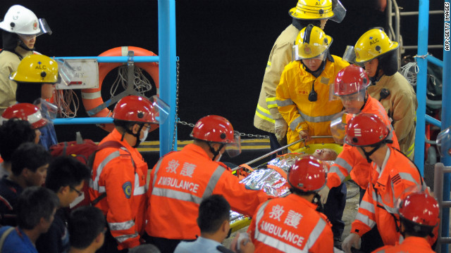 Boats crash, dozens dead in Hong Kong
