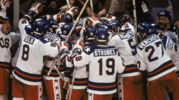 Having won the last four gold medals, the Soviet Union were hot favourites to win ice hockey gold at the 1980 Winter Olympics. Few expected Team USA - made up of amateur and college players - to stop them but they defied the odds to beat the Soviets 4-3 in a semifinal which became known as