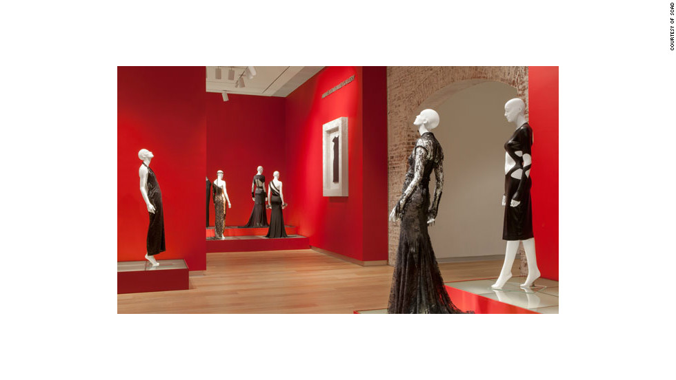 Andre Leon Talley's little black dress exhibit includes frocks from Norma Kamali, Tom Ford, Prada, Oscar de la Renta, Chanel and a host of other designers.