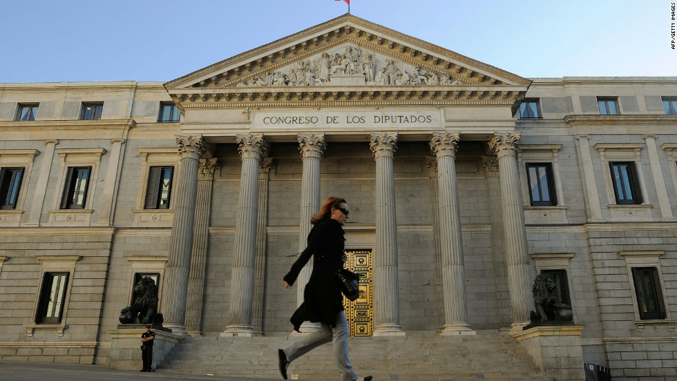 Spain has requested financial support from the European Union to shore up its distressed banks