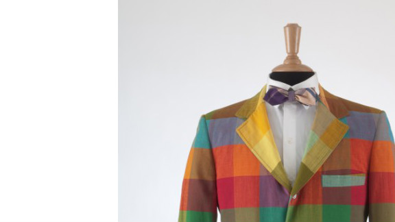 """This plaid madras jacket, circa 1970, comes from """"Ivy Style,"""" a special exhibition September 14 through January 5, 2013, celebrating the """"Ivy League look"""" that was actually cutting-edge when it debuted in the early 20th century on prestigious U.S. college campuses."""