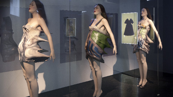 These experimental designs from Cyprus-born, British-trained designer Hussein Chalayan were featured in 2011