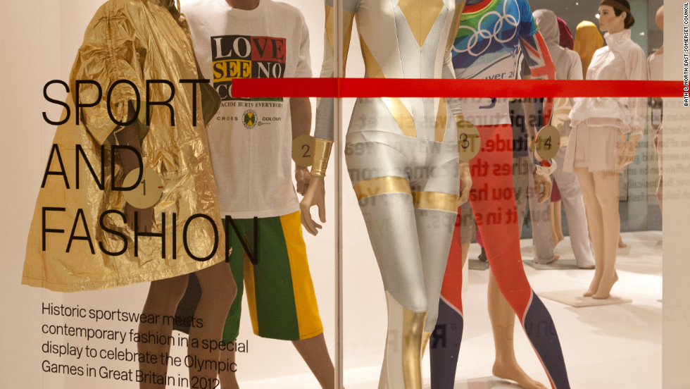 "The museum's current exhibition, ""Sport and Fashion,"" runs all year and celebrates the UK-hosted 2012 Summer Olympics, examining the ""close connection between active sportswear and fashion"" by showcasing historic looks from the museum's collection and the latest in modern athletic apparel."