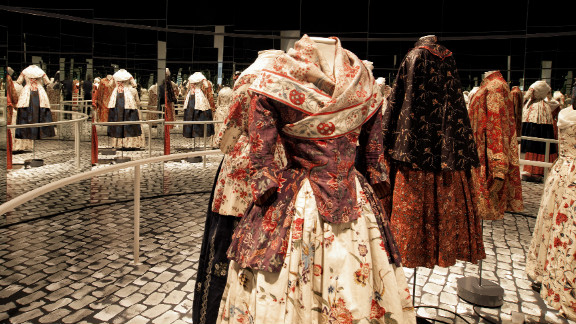 """These designs are from the recent exhibition """"Living Fashion. Women"""