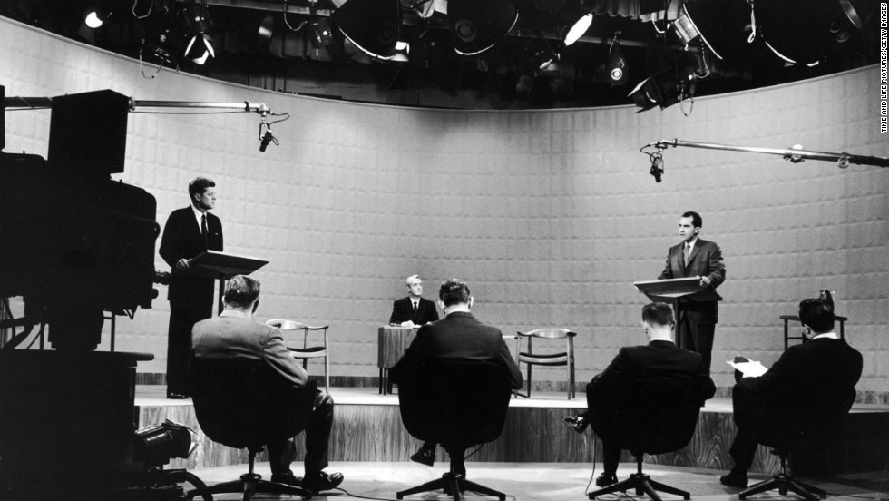 "The 1960 campaign for the White House is often called the first ""modern"" presidential election. It's been more than 50 years since the first televised presidential debates in American history, but the four TV showdowns between John F. Kennedy and Richard Nixon in the fall of 1960 still hold a prominent — and well-deserved — place in United States political lore."