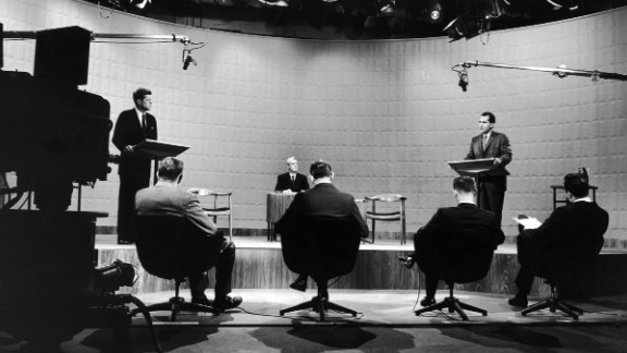 """The 1960 campaign for the White House is often called the first """"modern"""" presidential election. It's been more than 50 years since the first televised presidential debates in American history, but the four TV showdowns between John F. Kennedy and Richard Nixon in the fall of 1960 still hold a prominent — and well-deserved — place in United States political lore."""