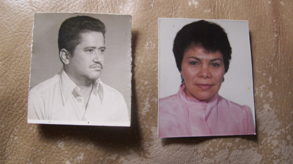 The earlier days of the Salvadoran couple.