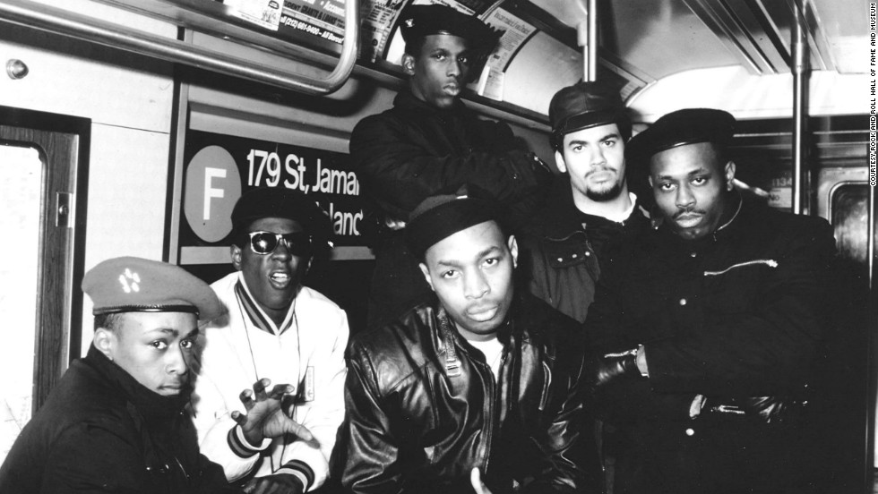 "As political as they were hip-hop pioneers, Public Enemy was led by frontman Chuck D. and showman Flavor Flav. Their 1988 album ""It Takes A Nation Of Millions To Hold Us Back"" and 1990 release ""Fear Of A Black Planet"" forever changed the landscape of rap."