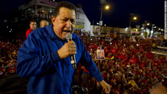 Venezuelan President Hugo Chavez is appealing to voters in the face of a challenge from the fast-rising Capriles.