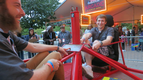 """Sponsored by """"Make Magazine,"""" the Maker Faire began in San Mateo, California in 2006 and has since spawned events in Detroit and San Francisco -- which attracted 100,000 visitors last year."""