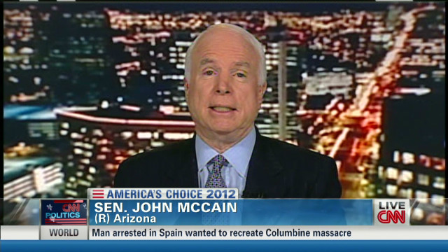 McCain: 'Surprised at how well Mitt did'