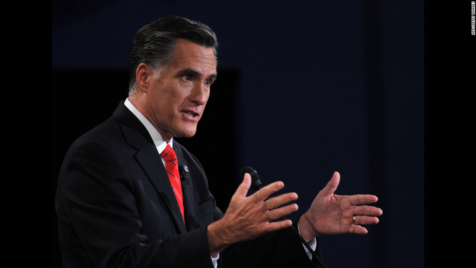 Romney said Obama has failed to bring down high unemployment and get the economy surging again.