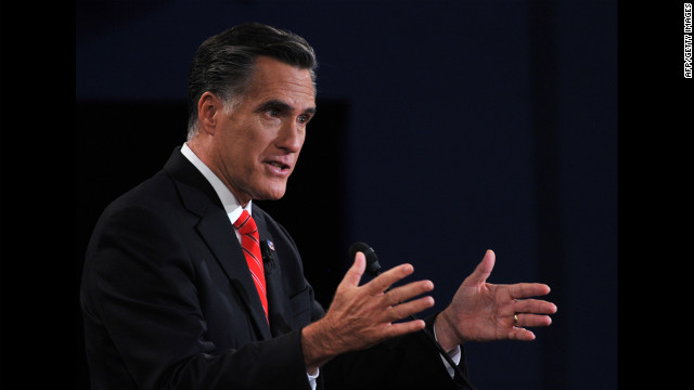 Romney: Banks reluctant to give loans