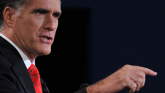 Romney was more aggressive Wednesday in criticizing Obama