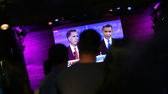 The event was expected to draw the candidates' largest nationwide audience to date.