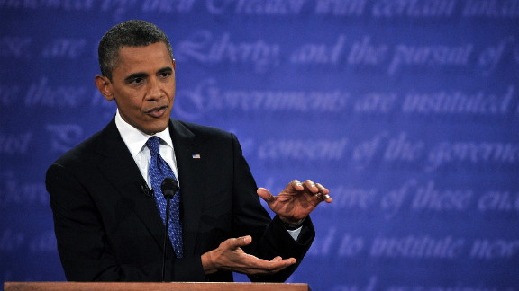 Obama defended his record and challenged his rival's proposals.