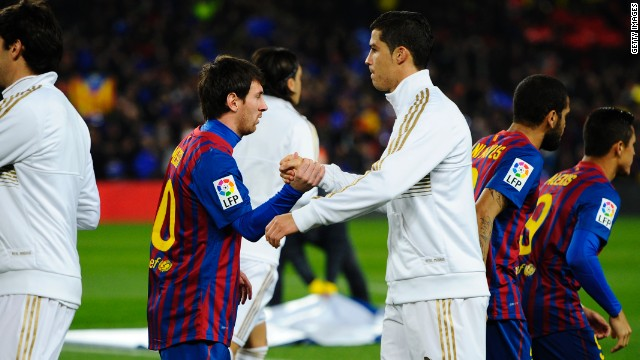 Lionel Messi and Cristiano Ronaldo could yet meet in this year's final.