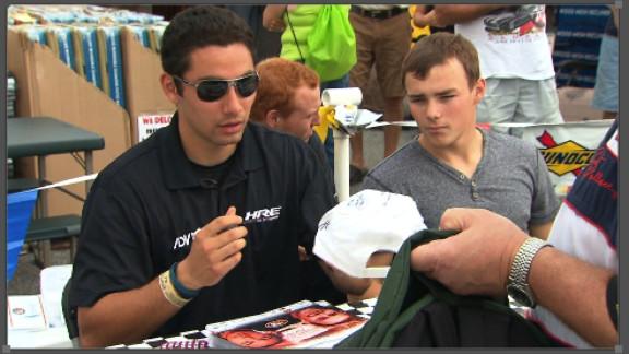Sergio Peña has dreams to make it big in NASCAR.