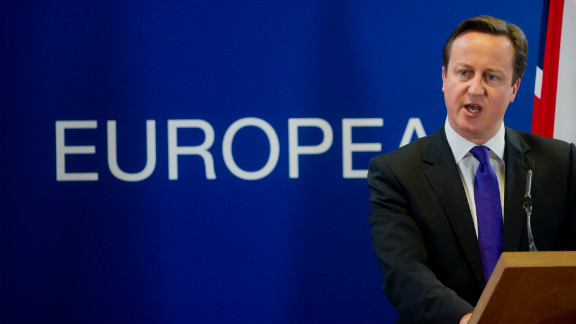 British Prime Minister David Cameron is refusing to surrender the EU rebate.