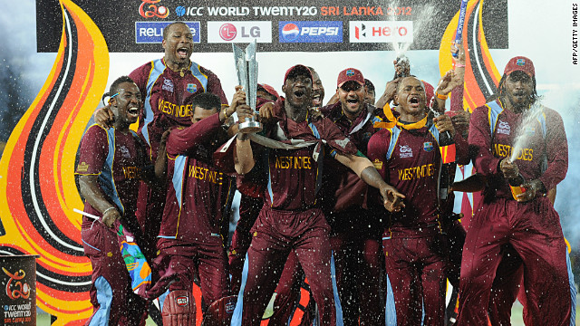 The West Indies won the T20 World Cup by beating hosts Sri Lanka in the final on Sunday