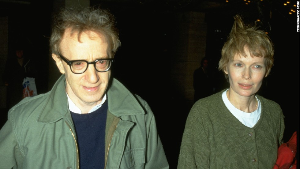 Mia Farrow appeared in several of Woody Allen's films before the couple went their separate ways in 1992. The pair reportedly split after Farrow found out about Allen's sexual relationship with one of her adopted daughters, whom Allen married in 1997.