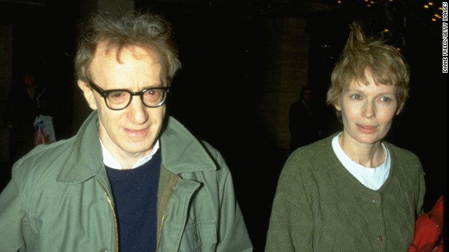 Mia Farrow appeared in several of Woody Allen's films before the couple went their separate ways in 1992. The pair reportedly split after Farrow found out about Allen's sexual relationship with one of her adopted daughters, who Allen married in 1997.