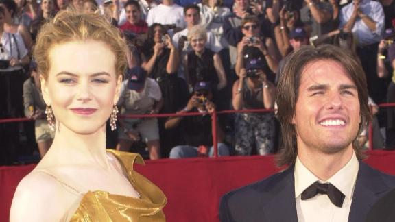 "Tom Cruise and Nicole Kidman collaborated on four films together, including the controversial ""Eyes Wide Shut,"" during their 11-year marriage. The couple split in 2001."