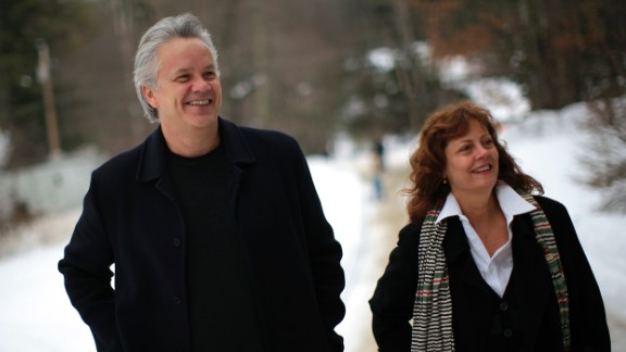 "Susan Sarandon and Tim Robbins split in 2009 after 23 years together. The pair, who met on the set of ""Bull Durham,"" have two sons but never married."
