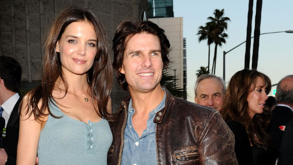 "Tom Cruise went the romantic route when he proposed to Katie Holmes in the early morning hours at the Eiffel Tower in Paris in 2005. The pair ""amicably settled"" their divorce in July 2012."