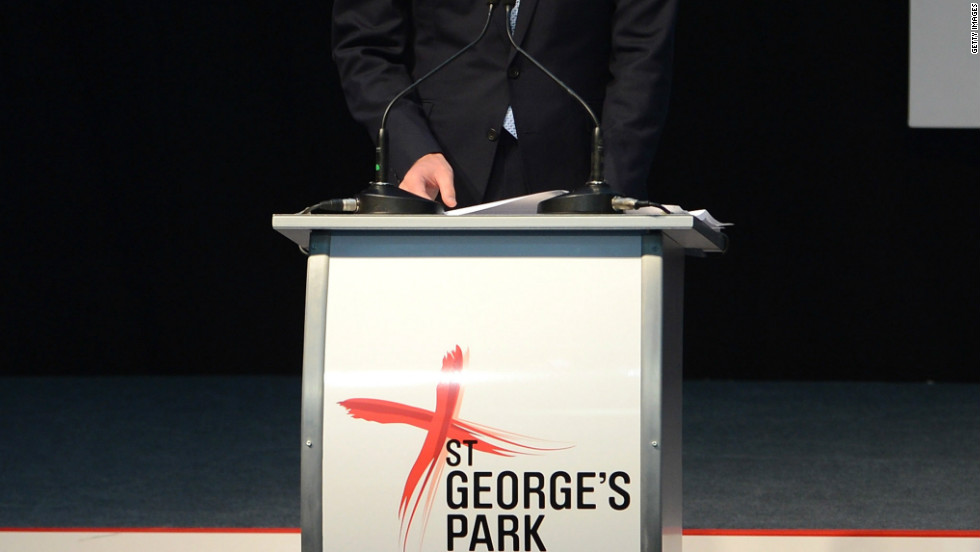 "In his role as president of the Football Association, William gave a speech to officially declare St. George's Park open. He said: ""Experiencing this extraordinary place gave me the same feelings I had when I first went to the Olympic Park."""