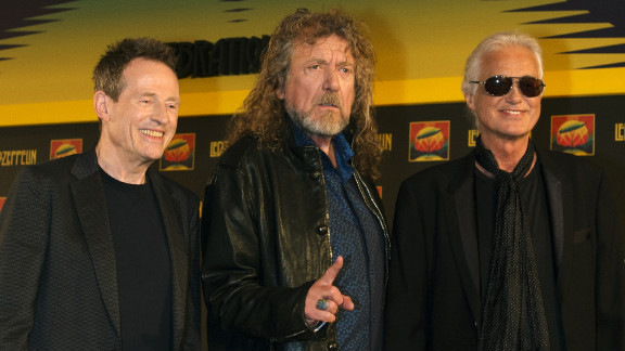 """In September 2012, Jones, Plant and Page announced the concert movie of their 2007 London reunion show. The film, """"Celebration Day,"""" opened in October 2012."""