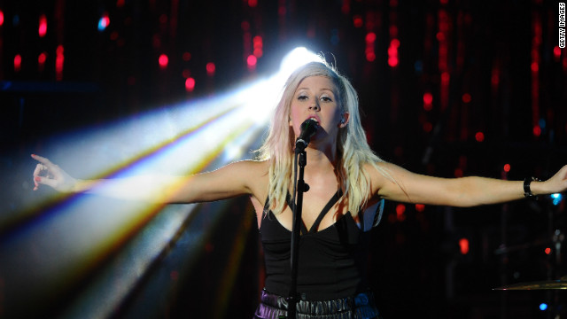 Ellie Goulding performs at the Third Annual ELLE Women In Music Event at Avalon on April 11, 2012 in Hollywood, California.