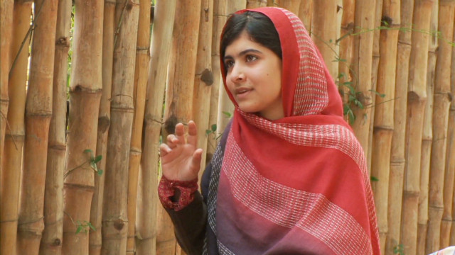 Malala in 2011: My people need me
