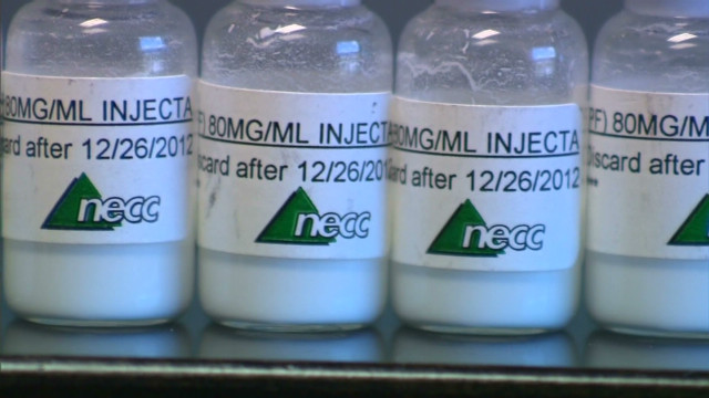 The steroid linked to a fungal meningitis outbreak was produced and distributed by the New England Compounding Center.