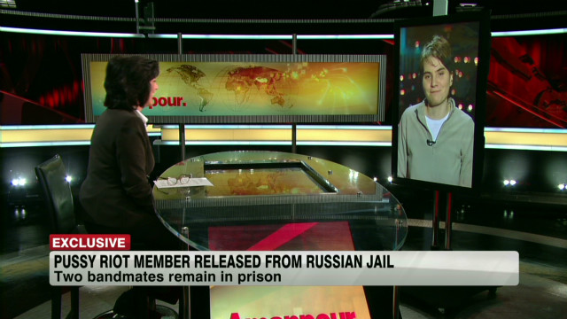 Freed Pussy Riot member speaks