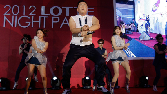 """The video for Psy's """"Gangnam Style"""" has racked up more than a billion hits on YouTube, becoming the most-watched entry of all time."""
