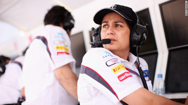 India's Monisha Kaltenborn became Formula One's first female CEO in 2010.